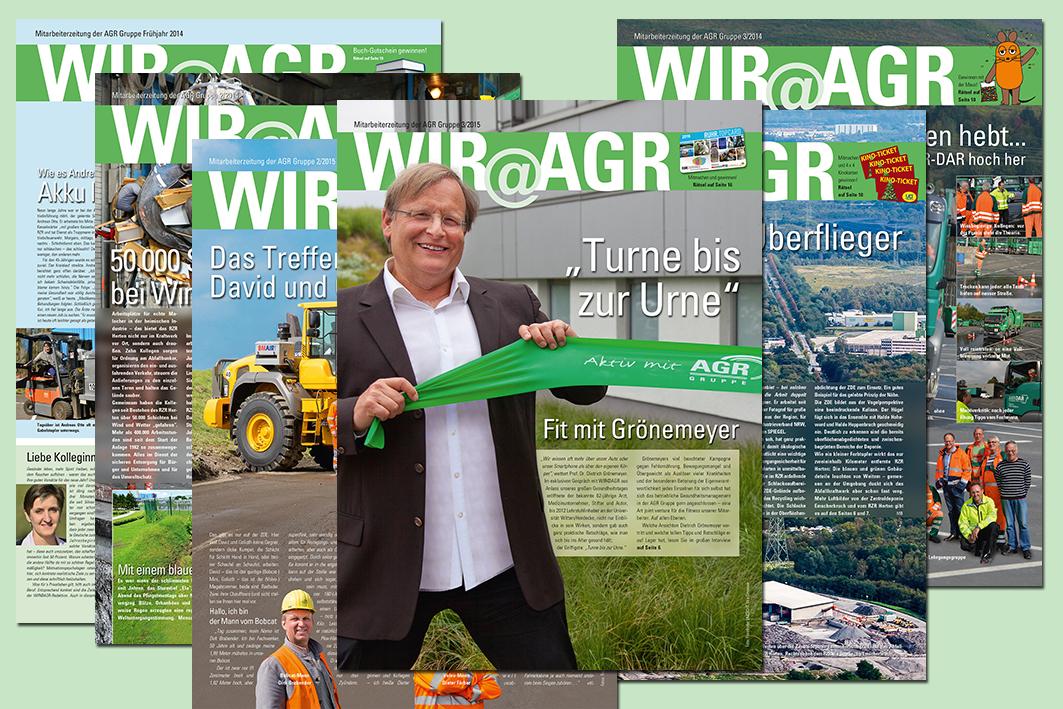 Mitarbeiterzeitung AGR