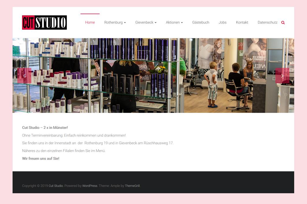 Website www.cut-studio.de