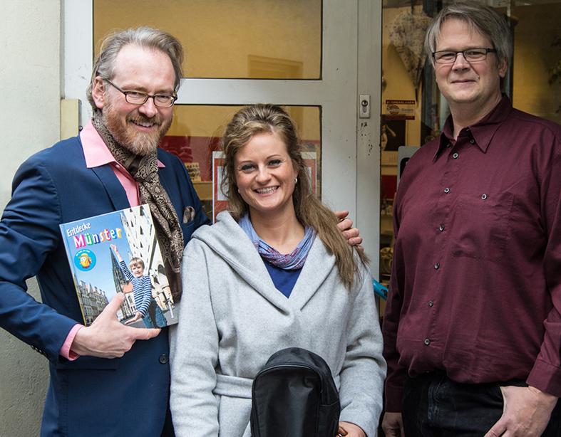 Adam Riese, Martje Salje und Heiko Werning